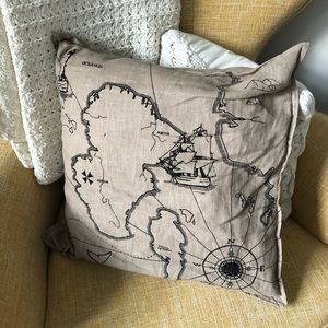 Map / Benzy Land Throw Pillow from IKEA
